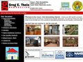 2575remodeling and repairing bldg contractors Greg E Theis Construction Inc